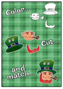 St. patrick's number puzzle - ByW version - FREE