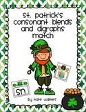 St.Patrick's Consonant Blends and Digraphs Match {Aligned
