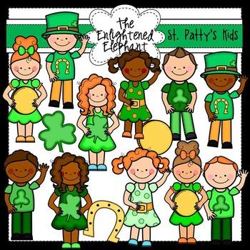 St.Patrick's Cuties Clip Art