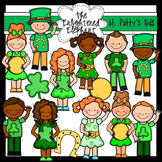 St.Patrick's Day Cuties Clip Art