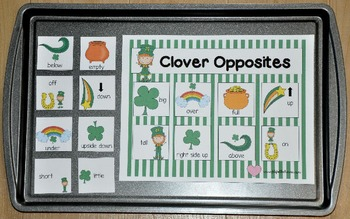 St.Patrick's Day Cookie Sheet Activities