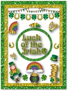 St.Patrick's Day Creative Writing-Luck of the Irish: Prompt and Materials