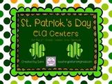 St.Patrick's Day ELA Centers - Common Core Aligned - Second Grade