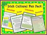 St.Patrick's Day Fun Irish Cultural Fun Pack: Proverbs Limericks Blessings