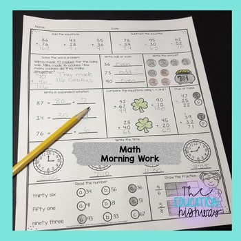 St.Patrick's Day Math and Literacy