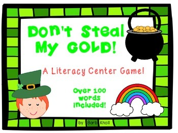 St.Patrick's Day Literacy Game! for Sounding Out Words!