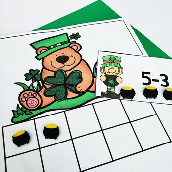 St.Patrick's Day Math Centers