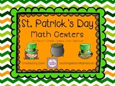 St.Patrick's Day Math Centers - Common Core Aligned - Second Grade