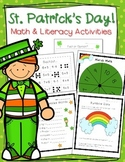 St.Patrick's Day - Math and Literacy Bundle