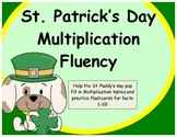 """""""St.Patrick's Day"""" Multiplication Tables and Flashcards!"""