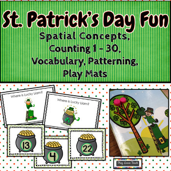 St. Patrick's Day Fun Spatial Concepts, Counting 1-30