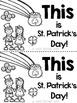 St.Patrick's Day Printables for Kindergarten