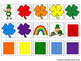 St. Patrick's Day Rainbow Clovers Early Reader Speech Therapy