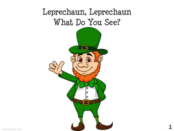 St. Patrick's Day  WHAT DO YOU SEE? Early Reader Literacy Circle