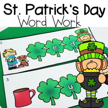 St.Patrick's Day Word Work
