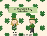 St.Patrick's Day themed Activity Packet