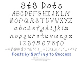 StS Dots Font: Commercial Use OK