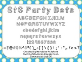 StS Party Dots Font: Commercial Use OK