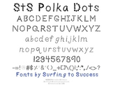 StS Polka Dots Font: Commercial Use OK
