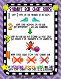 Stability Ball / Ball Chair Rules Poster - Flexible / Alternative Seating