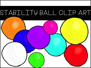Stability Ball Clip Art