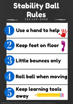 Stability Ball Rules