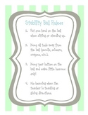 Stability Ball Rules for Students