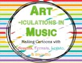 Staccato & Friends Cartoon Lesson
