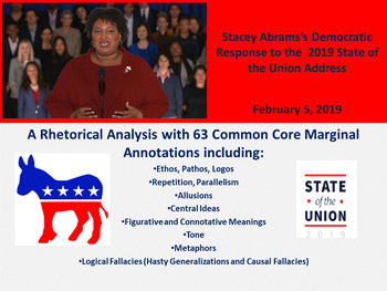Stacey Abrams 2019 Response to the State of the Union - Rhetorical Analysis