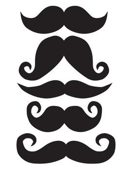 Stache Bash (Moustache/Mustache) Stringer Pennant - Banner Art