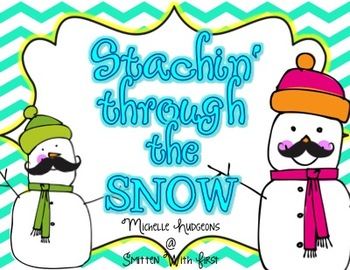Stachin' through the Snow {16 ELA & Math} + {2 Craftivities}
