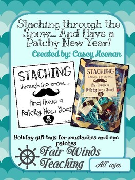 **FREEBIE** Staching through the Snow, and Have a Patchy New Year!