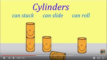 Stack Slide or Roll 3D objects song (Australian Curriculum)