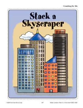 Stack a Skyscraper (Counting by 10s)