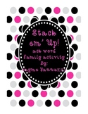 Stack 'em Up!  An -ack word family activity