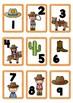 Western Theme Cards Random Numbers 1-100