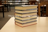 Stack of Books at the Library Stock Photo #253 and #257
