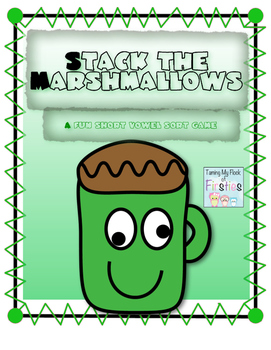 Stack the Marshmallow Vowels