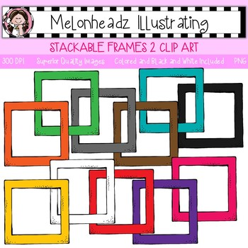 Stackable Frames 2 clip art - Single Image