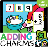 Stacked Adding to 10: Lucky Charms Marshmallows Math Googl