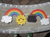 Stacked Rainbow Craftivity & Activity Sheet-St. Patrick's Day
