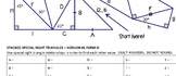 Stacked Special Right Triangles