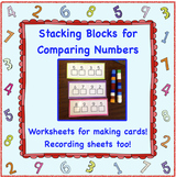 Comparing Numbers With Stacking Blocks - FREE
