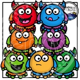 Stacking Monster Clipart