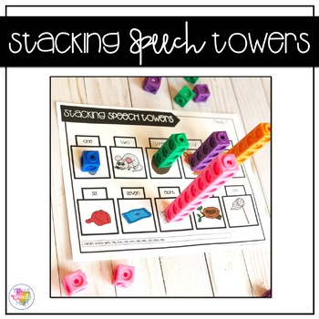 Stacking Speech Towers: No Prep Speech Therapy