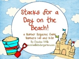 Stacks Game for a Day at the Beach1-10 and 11-20