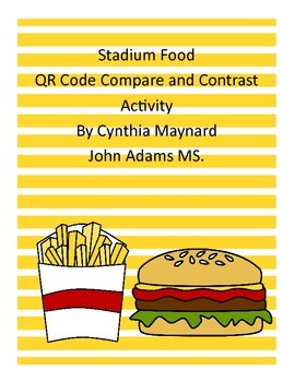 Stadium Compare and Contrast Using QR codes Literacy Center