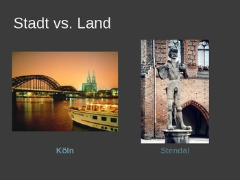 Stadt und Land Powerpoint