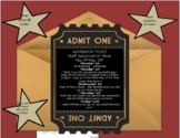 Staff Appreciation Invitation - Star/Hollywood Theme