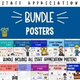 Staff Appreciation Posters Bundle